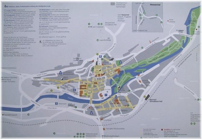 Stadtplan Schw Bisch Hall